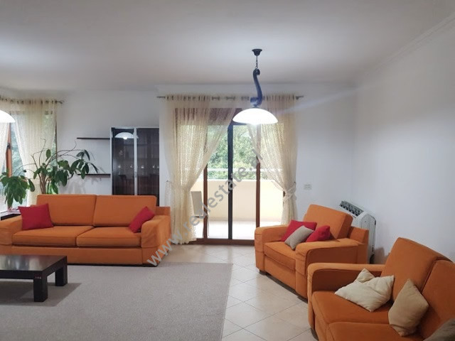 Modern apartment for rent close to the Park of Tirana.  The apartment is located in one of the mos