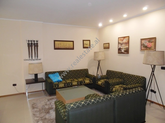 Two bedroom apartment for rent near the entrance of the Park in Tirana, Albania.