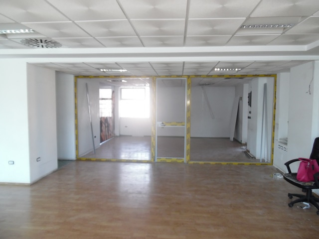 Office space for rent in Sami Frasheri street in Tirana, Albania.  It is located on the 4-th floor