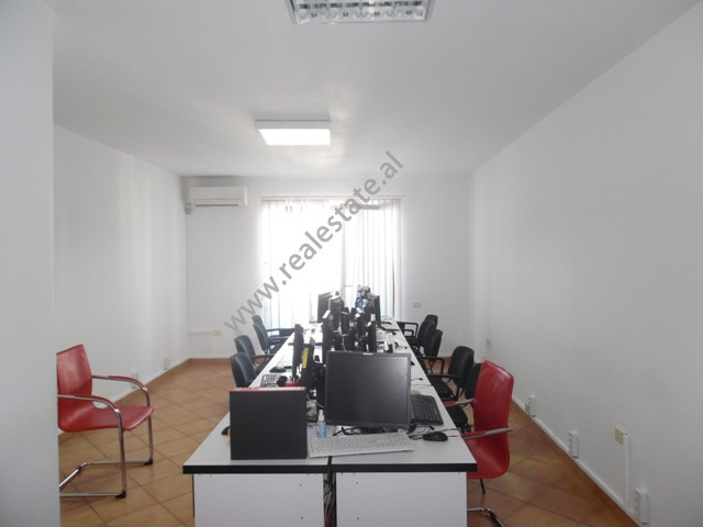 Office for rent near the Faculty of Sciences in Tirana, Albania.  It is situated on the 10-th floo
