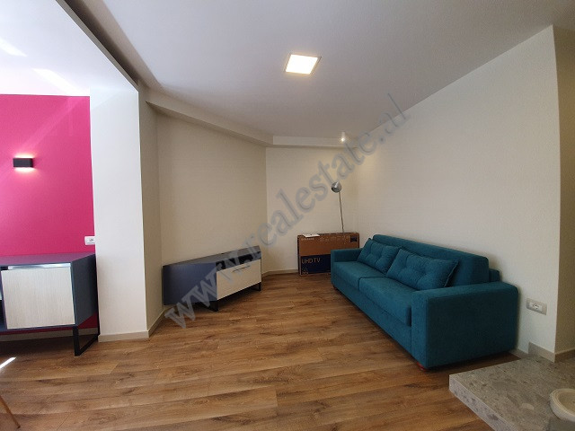 One bedroom apartment for rent close to Myslym Shyri Street in Tirana.