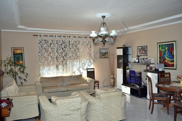 Two bedroom apartment for sale in Viktor Eftemiu street in Tirana, Albania. It is situated on the 6
