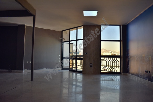 Duplex apartment for rent in Kavaja street in Tirana, Albania. It is located on the 5-th floor of a