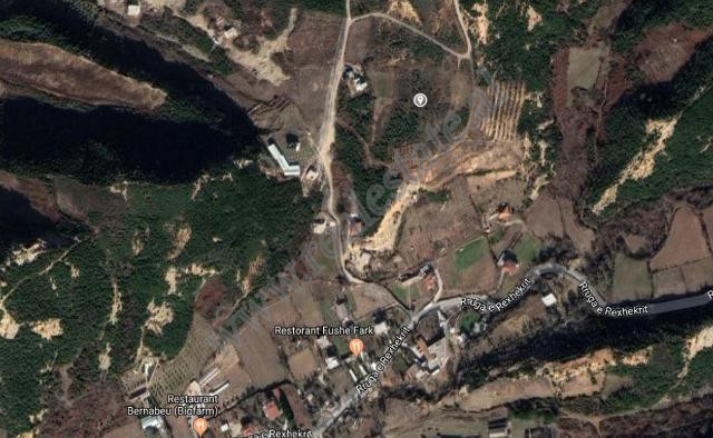Land for sale in Surrel village in Tirana, Albania.