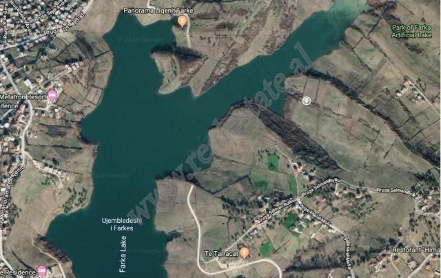 Land for sale near Selman Bulku street in Farka e Vogel area in Tirana, Albania. It is located very