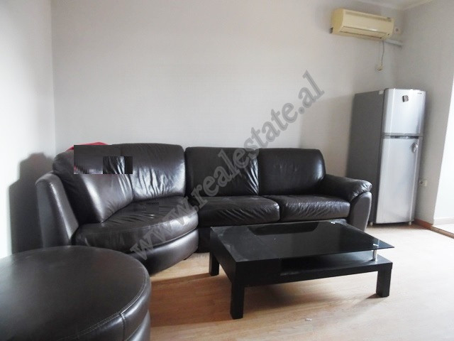 Two bedroom apartment for rent in Muhamet Gjollesha street in Tirana. It is located on the 3-d floo