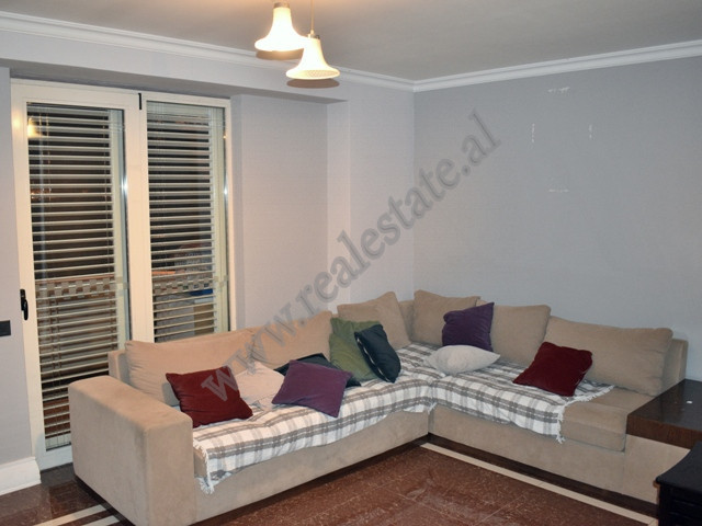 Three bedroom apartment for rent in Shyqyri Brari street in Tirana, Albania. It is situated on the