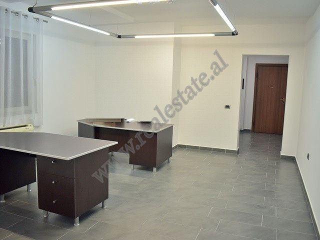 Office for rent in George Bush street in Tirana, Albania. It is located on the 3-d floor of a new b