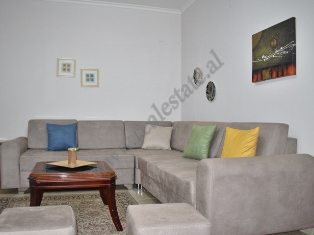 One bedroom apartment for rent in Blloku area, in Sami Frasheri street in Tirana, Albania.