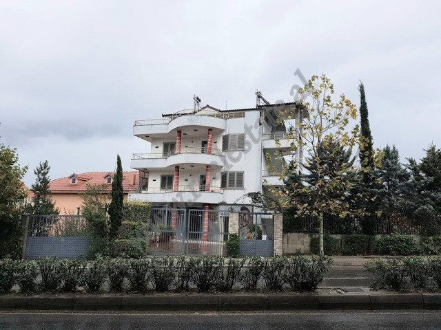 Four storey villa for sale in Bulevardi Blu street in Tirana, Albania.