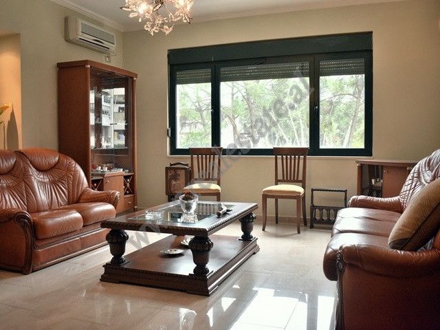 Two bedroom apartment for rent close to the Grand Park of Tirana. It is situated on the third floor