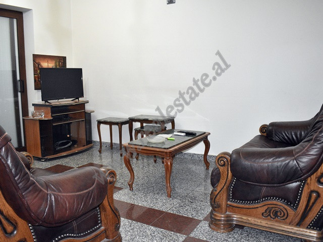 Two bedroom apartment for rent close to Elbasani Street in Tirana. It is situated on the second flo