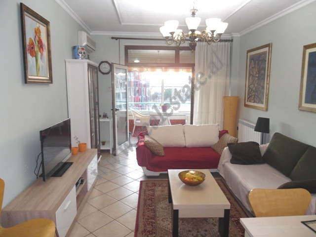Two bedroom apartment for rent in Dervish Hima street in Tirana, Albania.