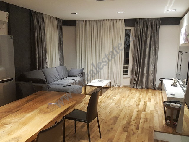 Duplex apartment for rent in Kodra e Diellit Rezidence in Tirana.  The apartment is situated on fi