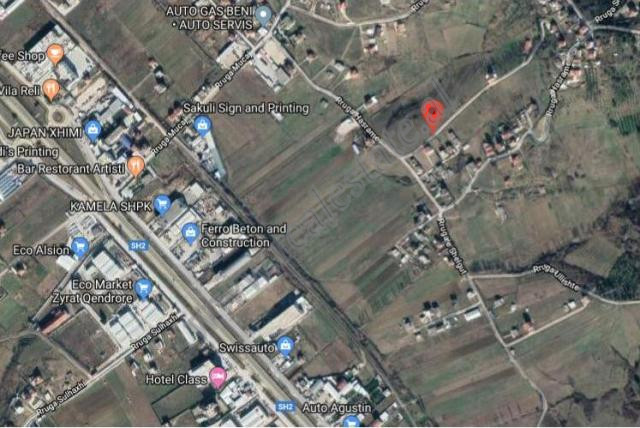Land for sale in Mucaj street in Tirana, Albania. The land has a surface of 2000 m2 and is located
