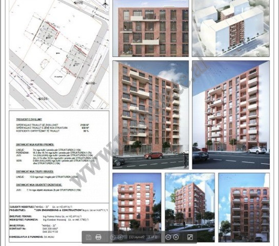 Two bedrooms apartments for sale close to Casa Italia in Tirana.