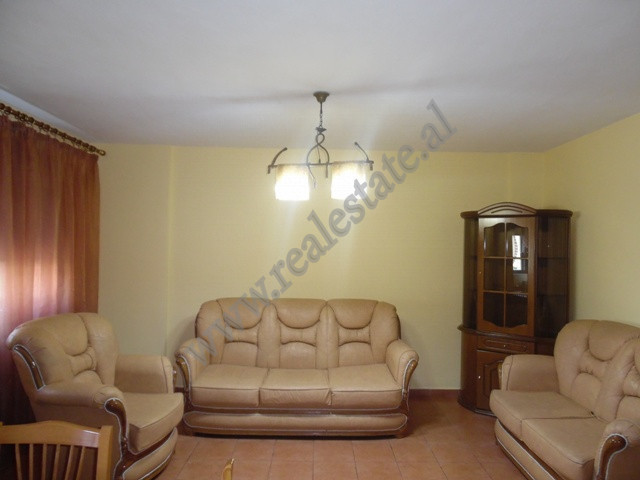 One bedroom apartment for rent in Ndre Mjeda street in Tirana, Albania.