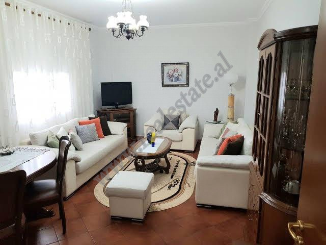 Apartment for rent in Bajram Curri boulevard in Tirana.  The apartment is situated on the th