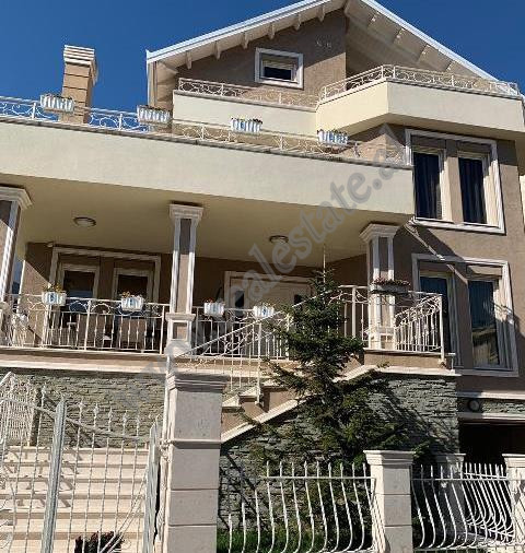 Luxury villa for rent in Acacia Hills residence in Tirana, Albania.