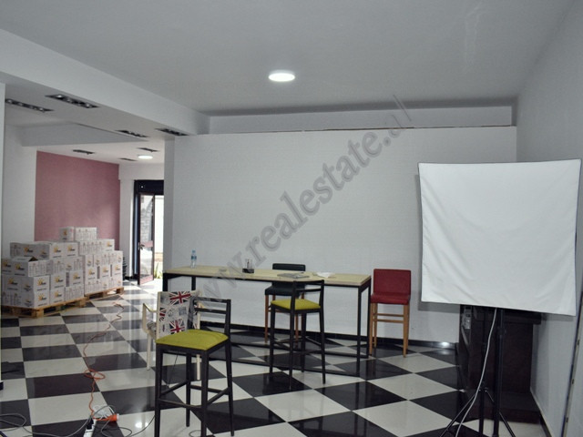 Office space for rent in Stavri Themeli street in Tirana, Albania.