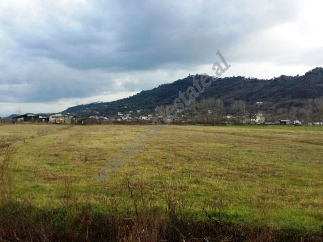 Land for sale in Ahmetaq area in Tirana. It has a total surface of 14,000 m2 with regular parameter