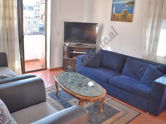 One bedroom apartment for rent in Durresi street in Tirana, Albania. It is located on the fourth fl