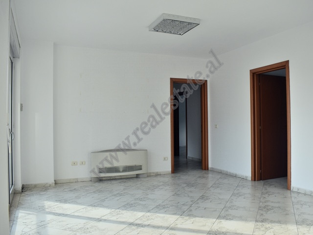 Office for rent in Blloku area in Tirana. It is situated on the eighth floor of a new building that