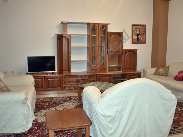 Three bedroom apartment for rent in Agush Gjergjevica Street in Tirana. It is situated on the first