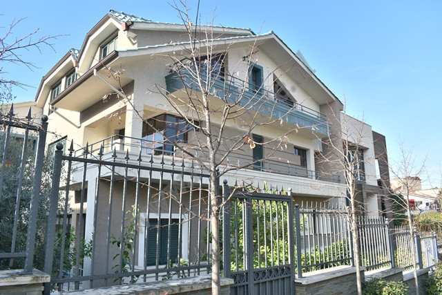 Three storey villa for sale in Ali Visha street in Tirana, Albania.