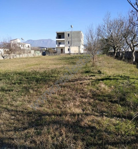 Land for sale in Albanet street in Tirana, Albania.