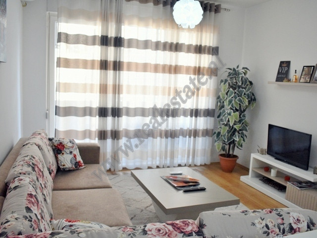 One bedroom apartment for rent near 21 Dhjetori area in Tirana, Albania. It is located on the third