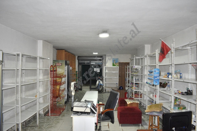 It is offered store space for rent near Kristal Center in Tirana, Albania. 