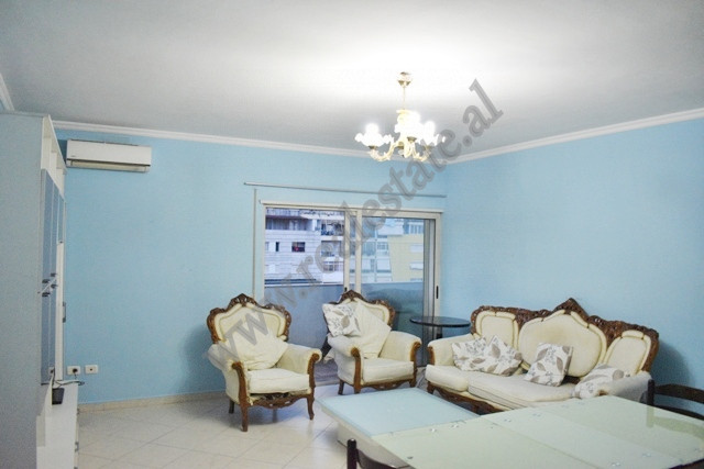 Two bedroom apartment for rent near Vizion Plus complex in Tirana, Albania. It is situated on the f