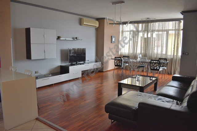Three bedroom apartment for rent in Zogu I Boulevard in Tirana, Albania.