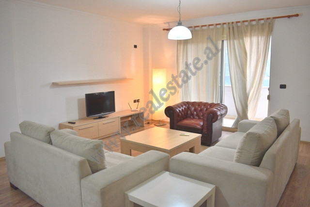 Modern two bedroom apartment for rent in Bogdaneve street in Tirana, Albania.