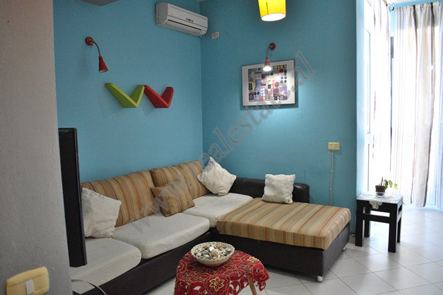 One bedroom apartment for rent in Babe Rexha Street in Tirana, Albania.