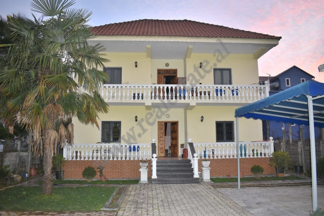 Two storey villa for sale in Tirana-Durres secondary street in Fushe Mezez area in Tirana, Albania.