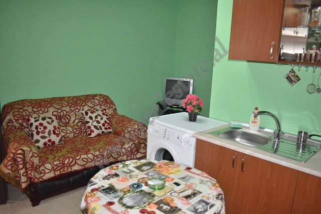 One bedroom apartment for rent in Albanopoli street in Tirana, Albania.