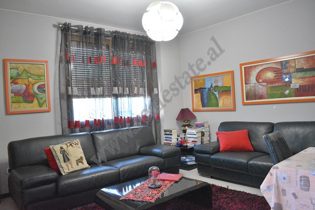 One bedroom apartment for rent near Blloku area in Tirana, Albania. The flat is situated on the fif