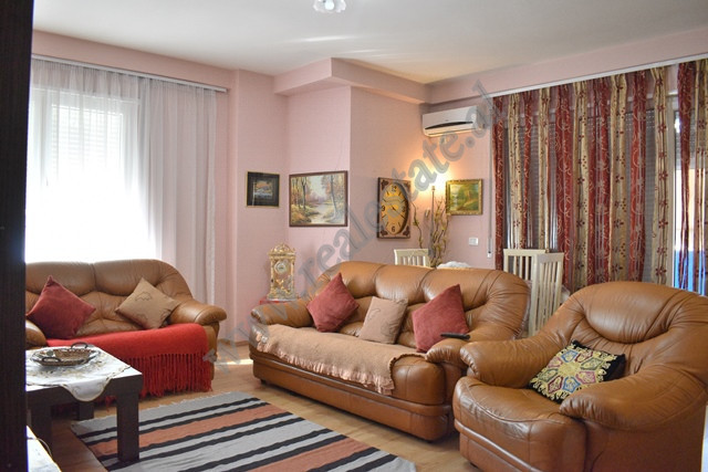 Two bedroom apartment for rent in Tish Dahia Street, Kika 2 Complex in Tirana.