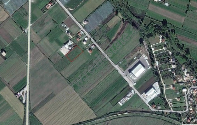 Land for sale near Airport street in Tirana, Albania . It is located near the main road with easy a