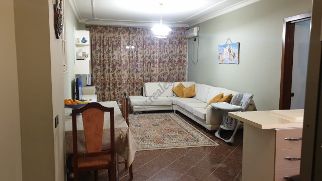 Two bedroom apartment for sale close to Elbasani street in Tirana.  The apartment is situated on t