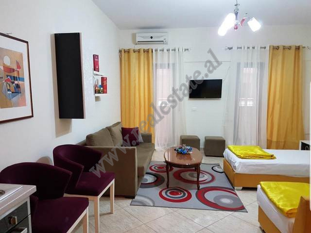 One bedroom apartment for rent in Barrikadave street in Tirana, Albania.