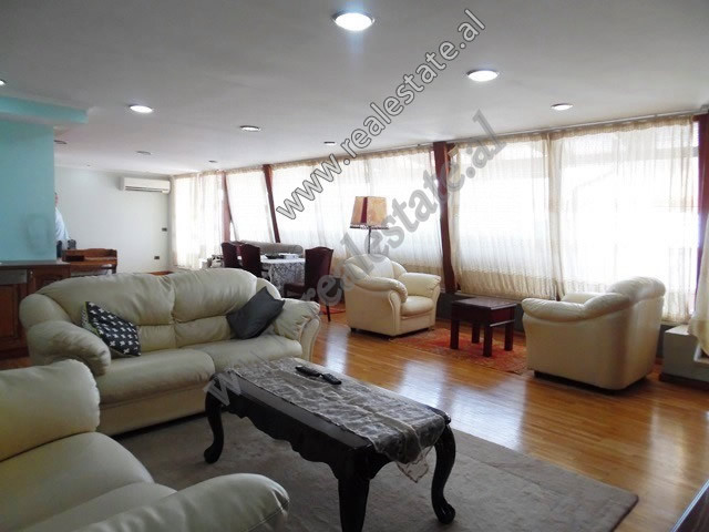 Three bedroom apartment for rent at the beginning of Pjeter Budi Street in Tirana.