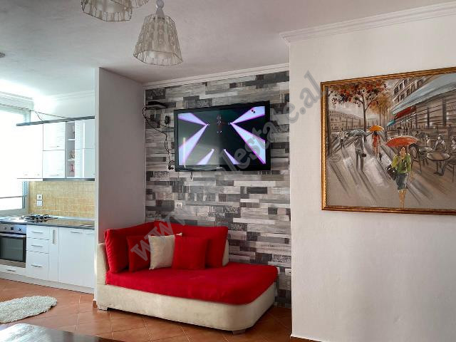 One bedroom apartment for rent in Mahmut Fortuzi street in Tirana, Albania.
