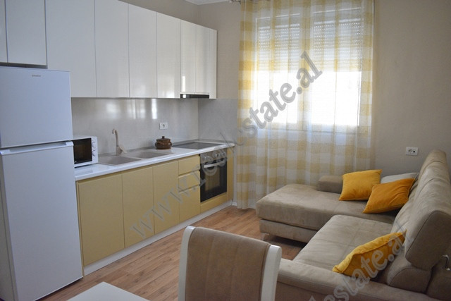 One bedroom apartment for rent in Jusuf Vrioni street in Tirana, Albania.