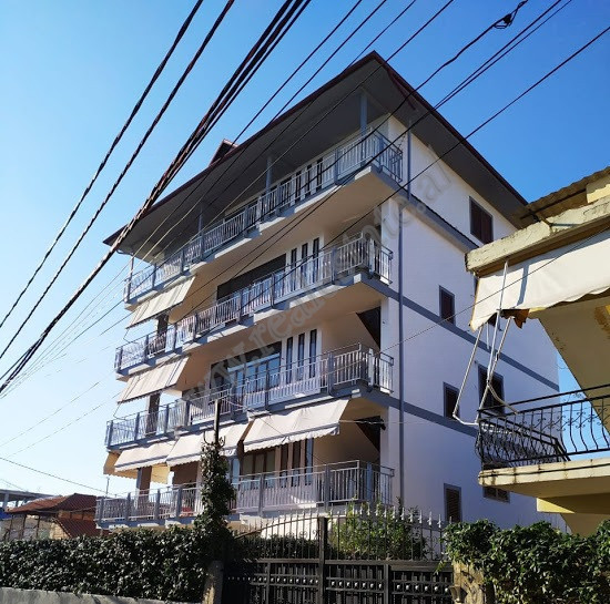 For rent five storey villa in Luis Jansin Henkard street in Tirana, Albania.