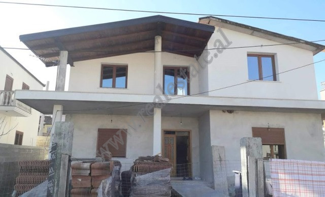 Two storey villa for sale in Gjelberimi in Vore, Tirana, Albania.