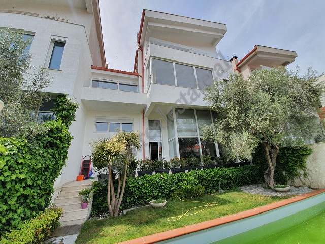 4-storey villa for rent in Kodra e Diellit residence in Tirana.