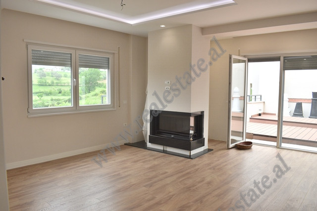 Three bedroom apartment for rent in a residential complex in Lunder in Tirana, Albania.